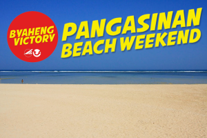 Byaheng Victory: Pangasinan Beach Weekend