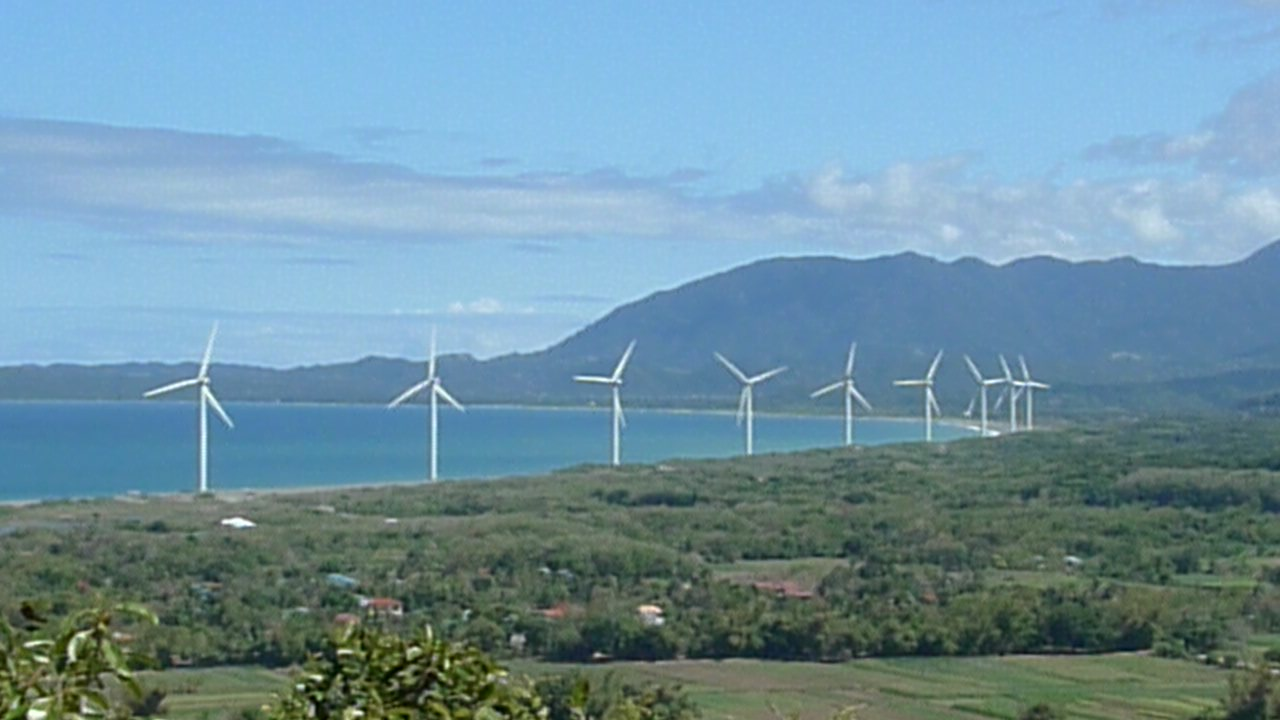 Bangui Windmills in Ilocos Norte
