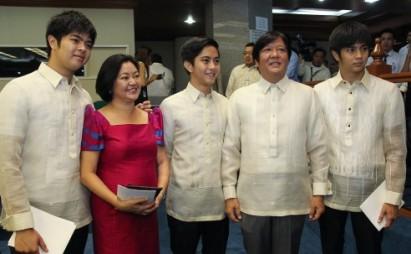 The Marcos Family | Photo Source: Interaksyon.com